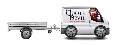 van-and-trailer